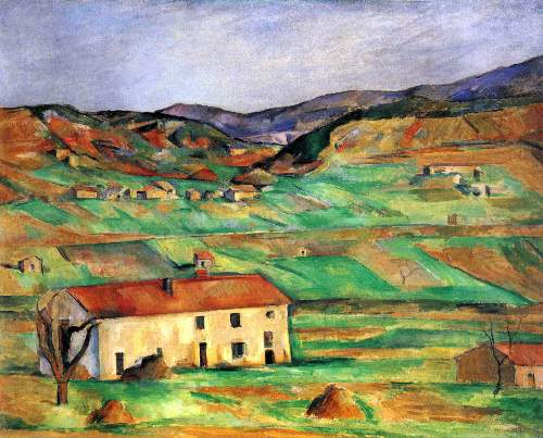 Cezanne - Around Gardanne
