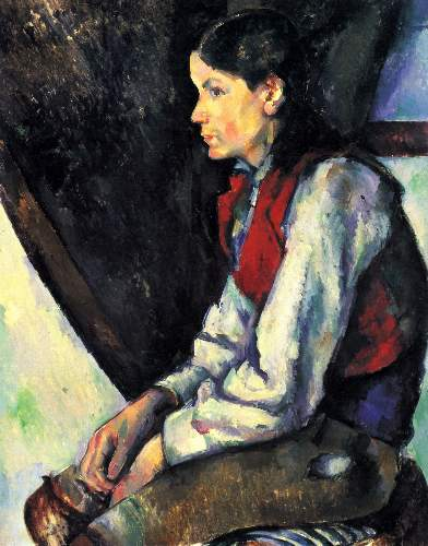 Cezanne - Boy with Red Vest