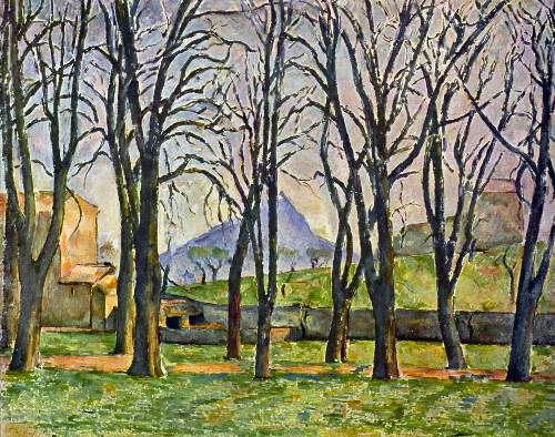Cezanne - Chestnut Trees in Jas de Bouffan