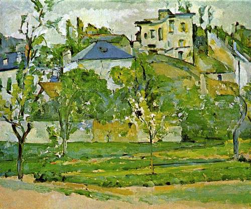 Cezanne - Fruit garden in Pontoise