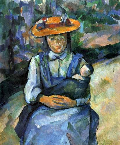 Cezanne - Girl with Doll