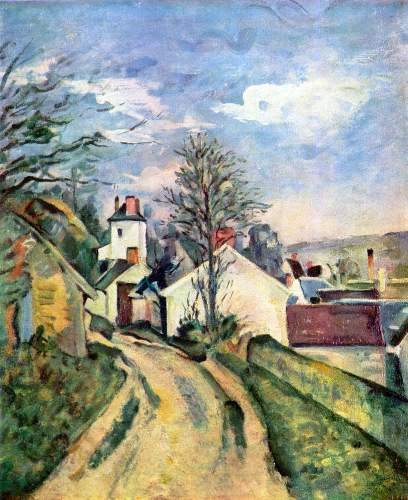 Cezanne - House of Dr. Gachet