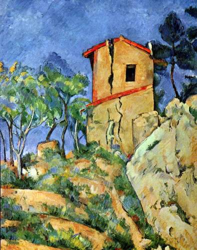 Cezanne - House with Walls