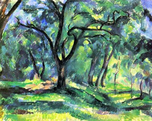 Cezanne - In the Woods