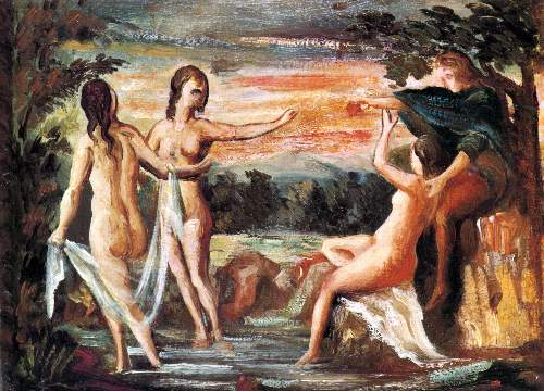 Cezanne - Judgement of Paris