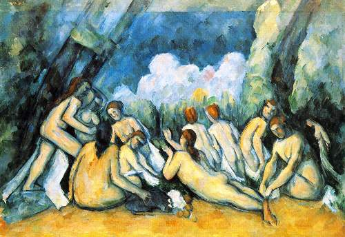 Cezanne - Large Bathers