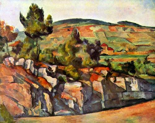 Cezanne - Mountains in Provence