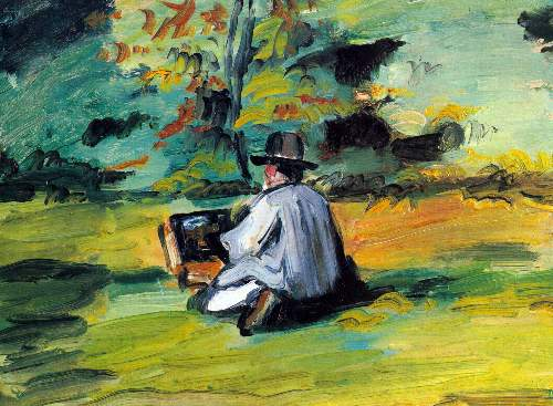 Cezanne - Painter at Work