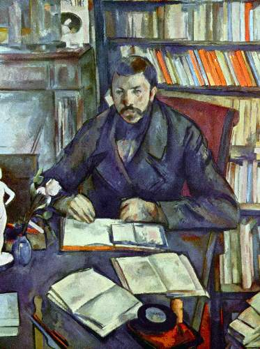 Cezanne - Portait of Gustave Geffroy