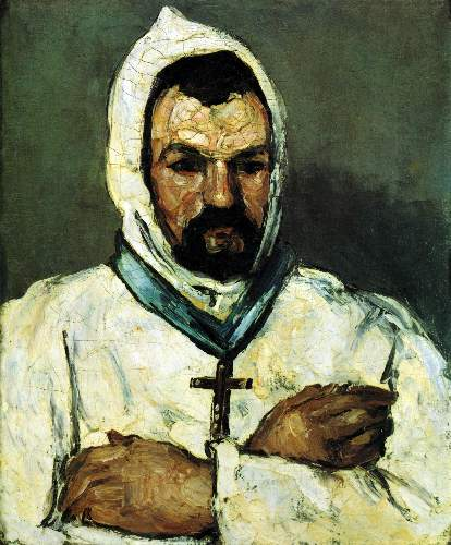 Cezanne - Portrait of Uncle Dominique as a monk