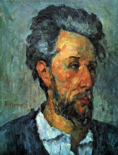 Cezanne - Portrait of Victor Chocquet