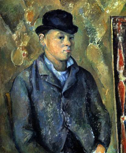 Cezanne - Portrait of his son Paul Cezanne