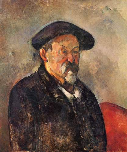 Cezanne - Self Portrait with Beret