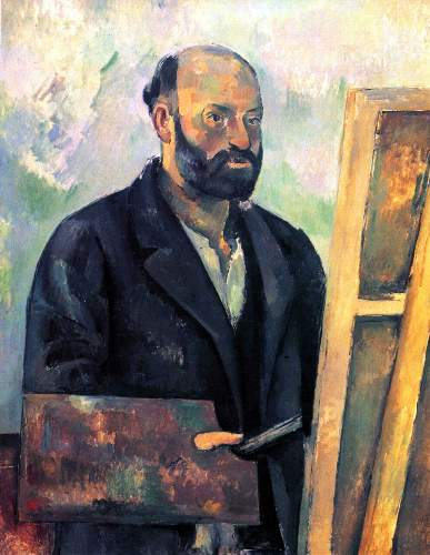 Cezanne - Self-portrait with Pallette