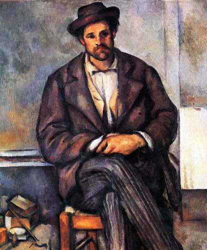 Cezanne - Sitting Farmer