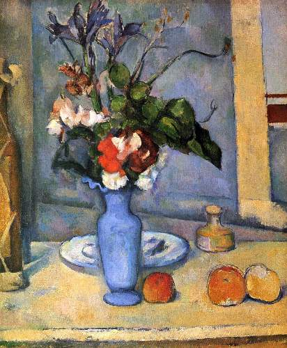 Cezanne - Still Life with Blue vase