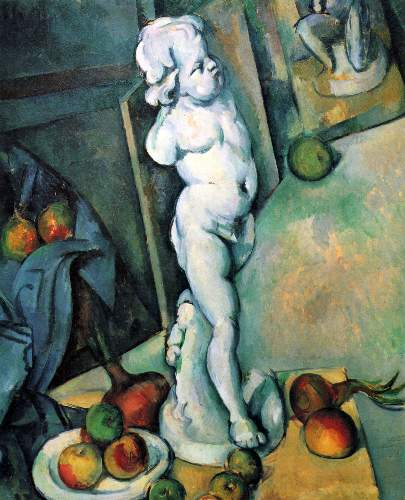 Cezanne - Still Life with Cherub