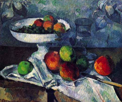 Cezanne - Still Life with Fruit Bowl
