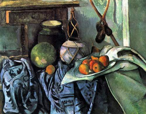 Cezanne - Still life with Eggplant