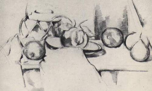 Cezanne - Still life with Gingerpot and  Fruit
