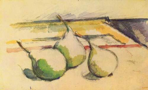 Cezanne - Still life with Pears