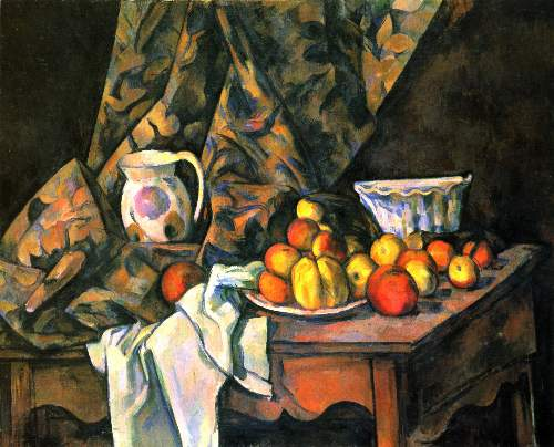 Cezanne - Still life with apples and peaches