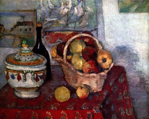 Cezanne - Still life with soup tureen