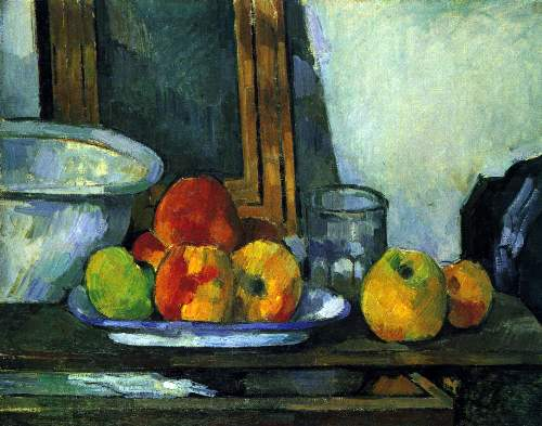 Cezanne - Still-life with an open drawer