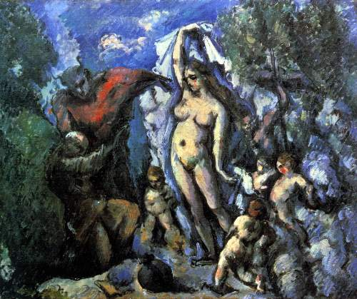 Cezanne - Temptation of St. Anthony
