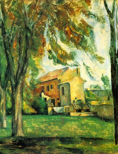 Cezanne - The Pond of the Jas de Bouffan in Winter