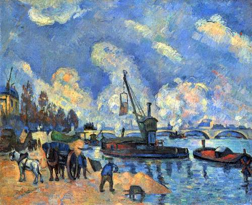 Cezanne - The Seine at Bercy