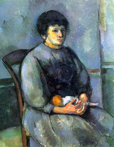 Cezanne - Woman with Doll