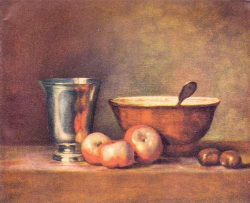 Chardin - The silver cup