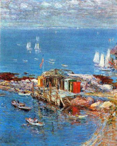 Childe Hassam - Afternoon in August, Appledore