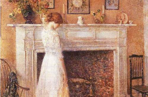 Childe Hassam - In the old house