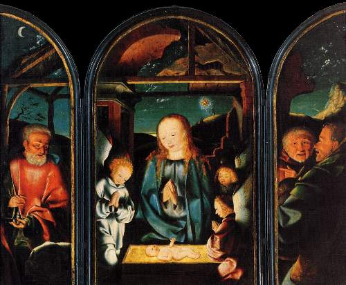 Adoration of the Christ Child by Kalkar