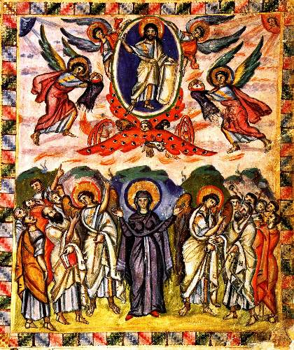 Ascension of Christ by Unknown