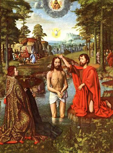 Baptism of Christ by David