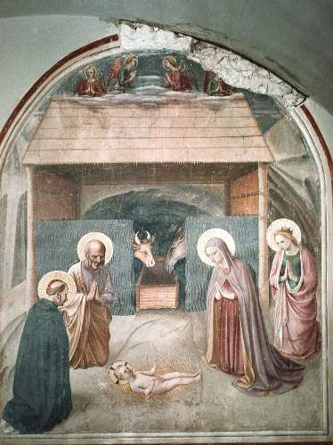 Birth of Christ by Angelico