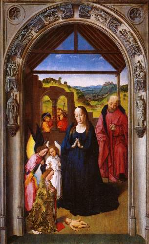 Birth of Christ by Bouts