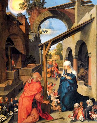 Birth of Christ by Duerer