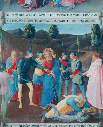 Capture of Christ by Angelico