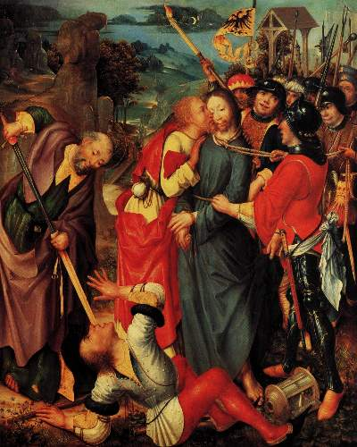 Capture of Christ by Kalkan