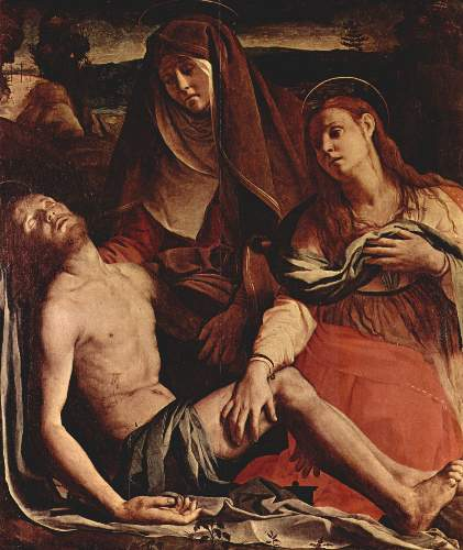Christ and Maria Magdalena by Bronzino
