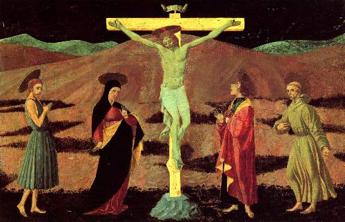 Christ at the cross by Ucelo