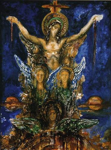 Christ by Moreau