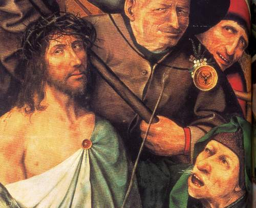 Christ crowned with thorns by Bosch