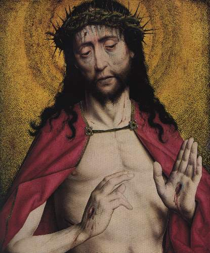 Christ crowned with thorns by Unknown