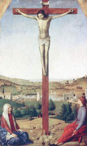 Christ crucified by Messina