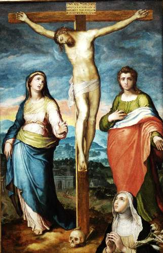 Christ on the cross by Pino